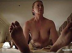 Huge Cheeky Tits sucks Boobs