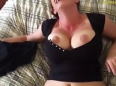 asian milf fucking a young fire delivery guy