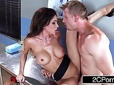Sexy Nurse Milking A Ho Cock
