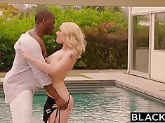 blonde uses her bbc as a bf