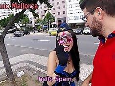 EvilHotMan BBC Teen in Brazil Rio Antiquia Perla fudendo putia e vecina de gateria