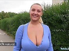 Country girl public boobs