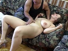 Babes showing their breasts and getting fucked too