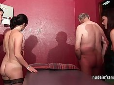 Hot young babe in his woods sexual encounter with good french guy