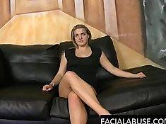 Horny 19yo Beautiful Girl Abused