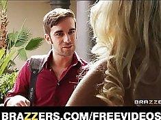 Blonde wife joins friends in having husband cumin