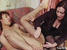 Humiliating fuck sessions featuring seductive women