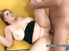 Busty slut rides hard cock and enjoys it